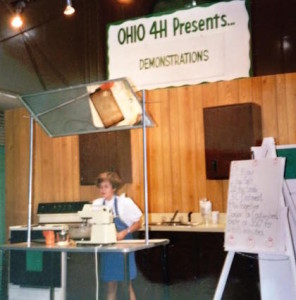 My first Ohio State Fair appearance - 50 cent poster boards and all!