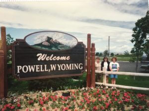 The Powell family in Powell, Wyoming (photo credit: Dave Powell)