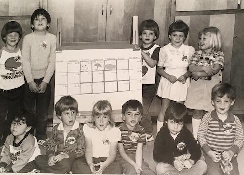 Kindergarten enrichment program - Circa 1986